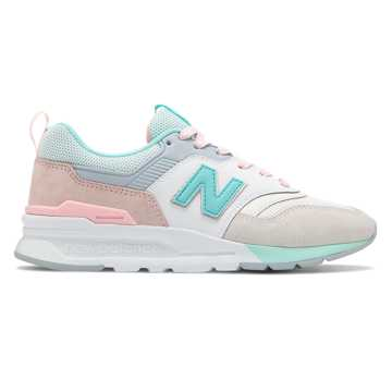 New Balance 997H, Sea Salt with Light Tidepool