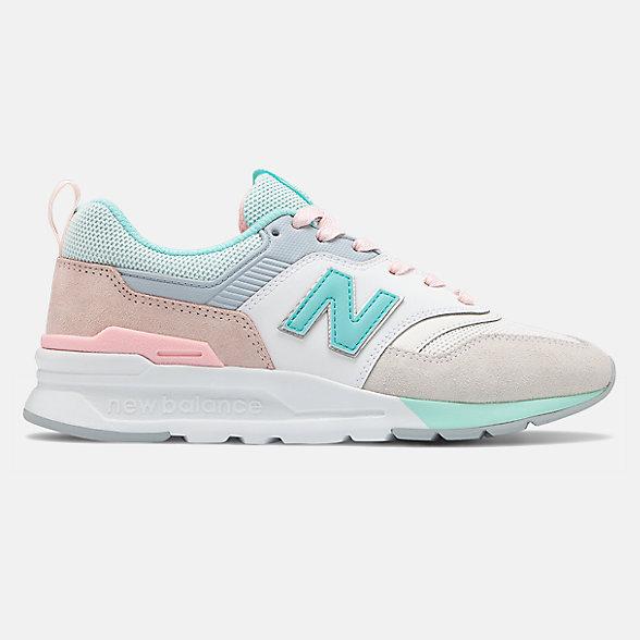 New Balance 997H女款复古休闲运动鞋, CW997HBA