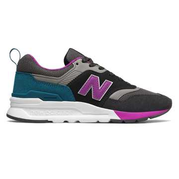New Balance 997H, Phantom with Voltage Violet