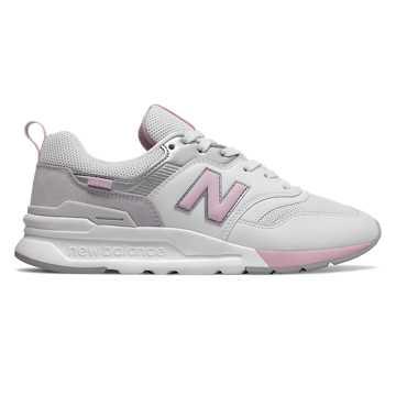 New Balance 997H女款復古休閑運動鞋, 白色