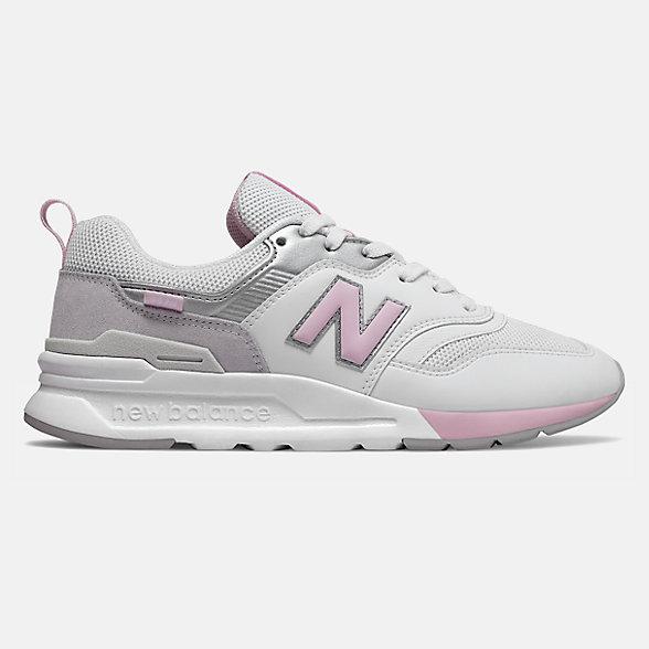 New Balance 997H女款复古休闲运动鞋, CW997HFB