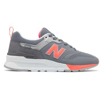 New Balance 997H, Grey with Guava