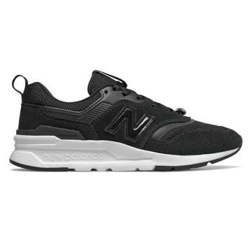 New Balance 997H Mystic Crystal, Black with White