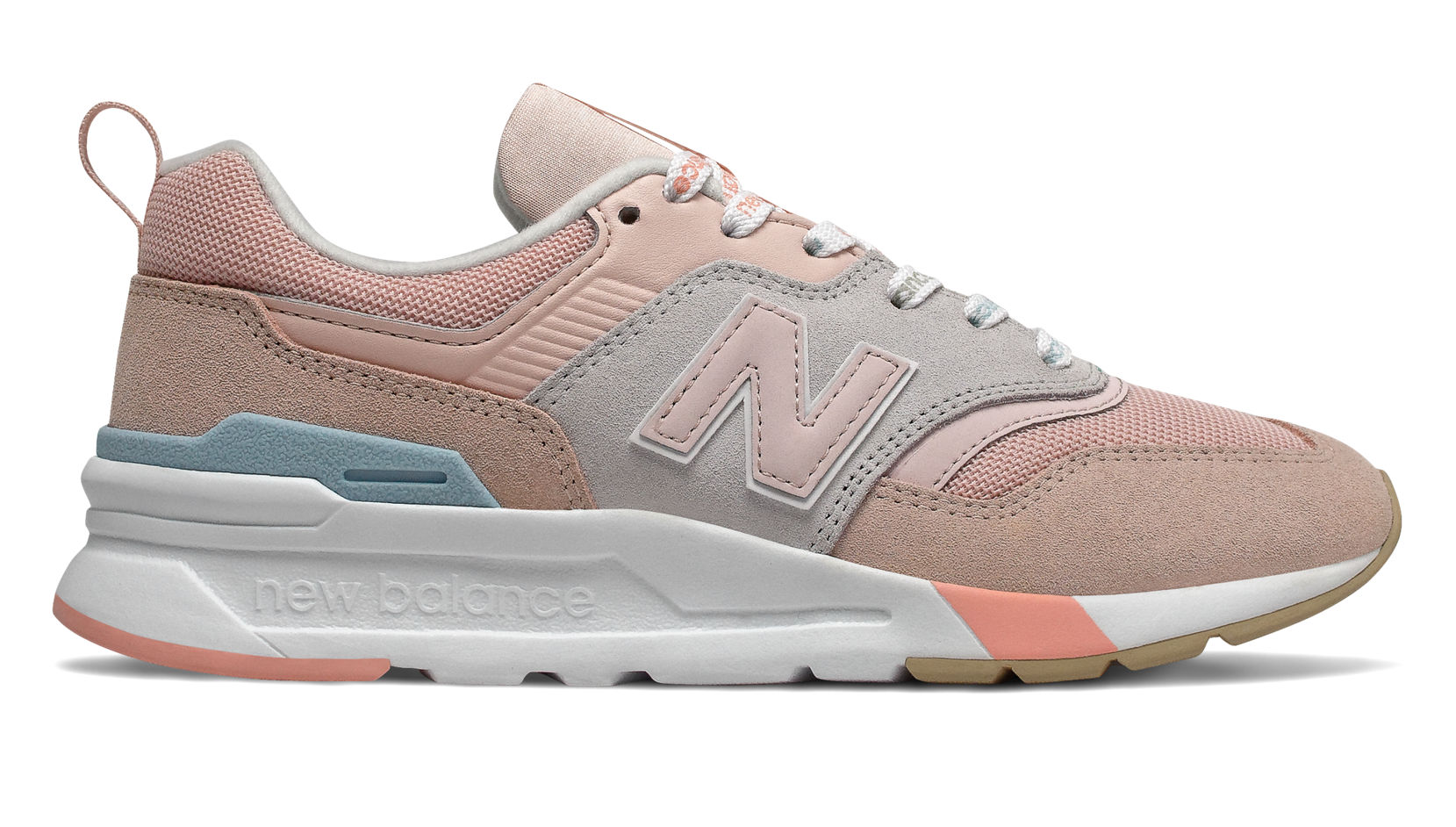 NB 997H, Oyster Pink with Team Away Grey