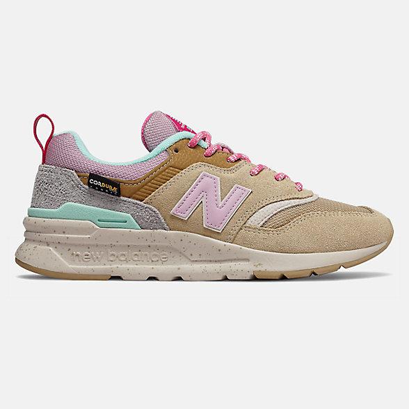 New Balance 997H系列女款复古休闲鞋, CW997HOA