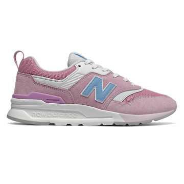 New Balance 997H情人节系列女款复古休闲运动鞋 限量发售, 娇艳粉