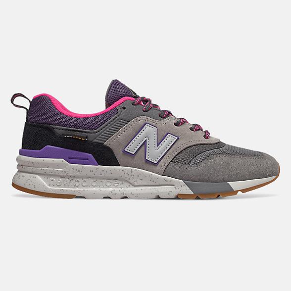 New Balance 997H系列女款撞色拼接休閑鞋, CW997HXD