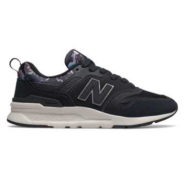 New Balance 997H, Black with Kite Purple