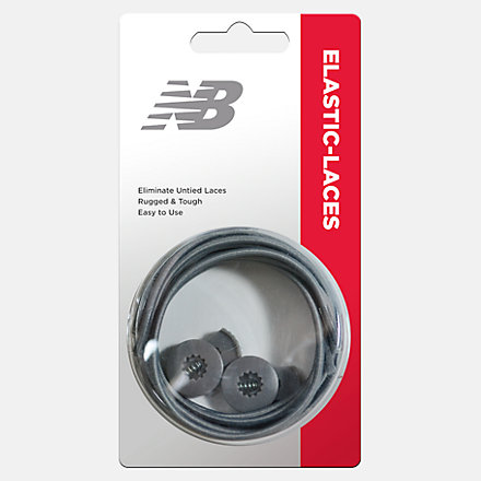 New Balance Elastic Laces, ELASTICGRY image number null