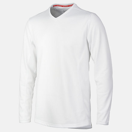 New Balance Cricket Sweater, EMT7017WT image number null