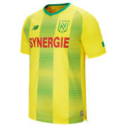 NB FC Nantes Home Jersey, Yellow with Green & Red