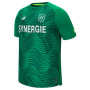 NB FC Nantes Away Jersey, Green with White & Hi Lite