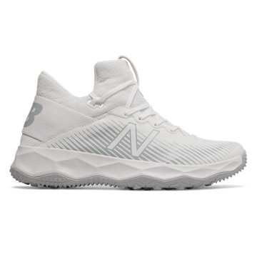 New Balance FreezeLX 2.0 Turf, White with Silver