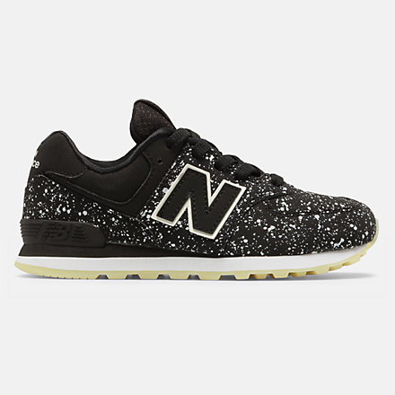 New Balance 574 Glow in the Dark, GC574KB image number null