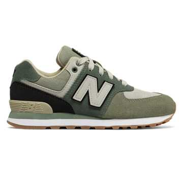 New Balance 574, Faded Rosin with Black