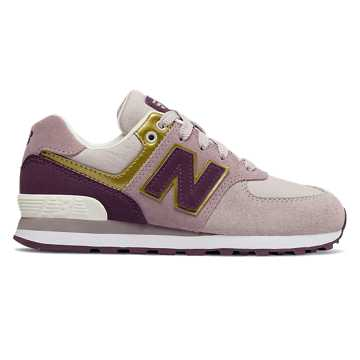New Balance 574, Light Cashmere with Dark Current