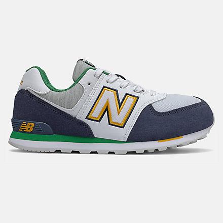 New Balance 574 Varsity Sport, GC574NLB image number null