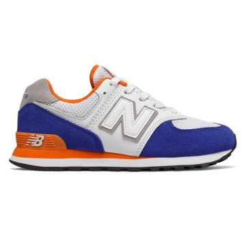 New Balance 574 Summer Sport, Team Royal with Varsity Orange
