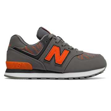 New Balance 574, Castlerock with Bengal Tiger