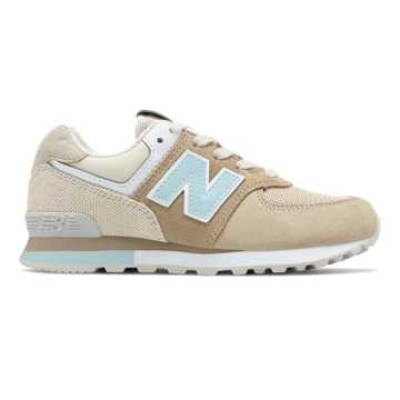New Balance 574 Retro Surf, Hemp with Incense