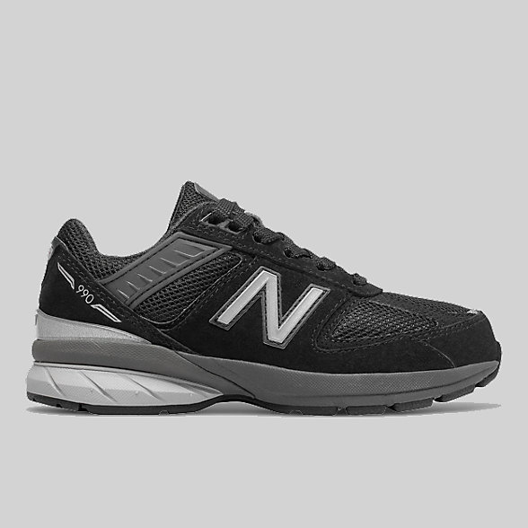 New Balance Grade School 990v5, GC990BK5