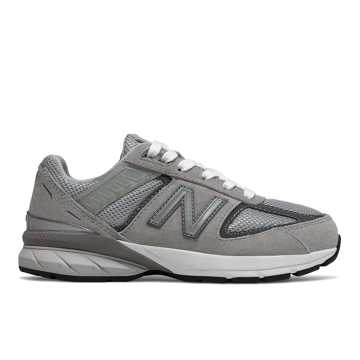 468f2bd8 New Balance 990v5, Grey