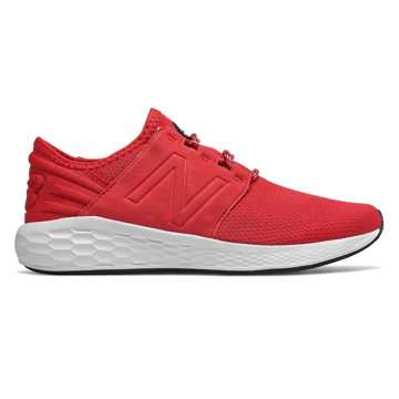 New Balance Fresh Foam Cruz v2, Team Red with Black