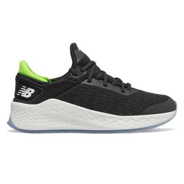 New Balance Fresh Foam Lazr v2, Black with RGB Green