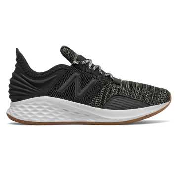 New Balance Fresh Foam Roav, Black with Summer Fog