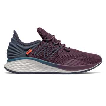 New Balance Fresh Foam Roav, Dark Currant with NB Navy