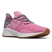 NB Fresh Foam Roav Tee Shirt, Candy Pink with Light Aluminum
