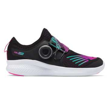 New Balance FuelCore Reveal Boa, Black with Teal