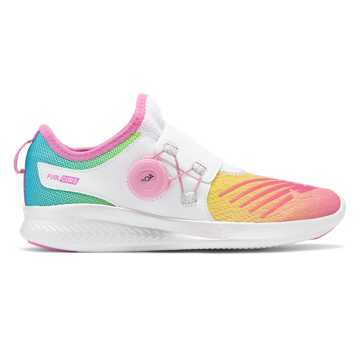 New Balance FuelCore Reveal, White with Rainbow