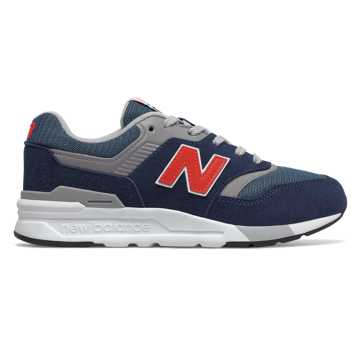 New Balance 997H Essentials, Natural Indigo with Neo Flame