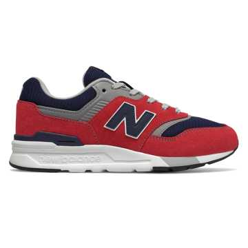 New Balance 997H Essentials, Team Red with Pigment