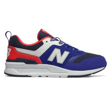 huge discount e7ee1 98822 New Balance 997H, Team Royal with Energy Red