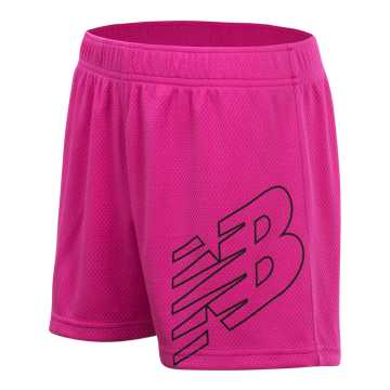 New Balance Core Performance Short, Carnival Pink