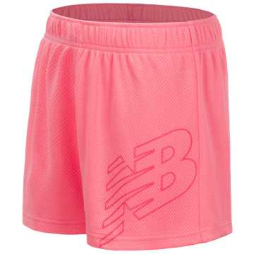 New Balance Core Performance Short, Bleached Guava