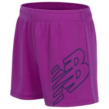 New Balance Core Performance Short, Voltage Violet