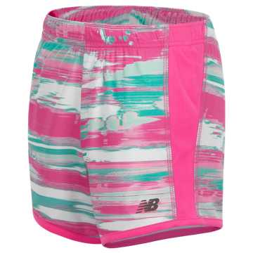 New Balance Printed Performance Short, Light Peony