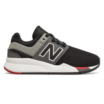 New Balance 247, Black with Mineral Rose