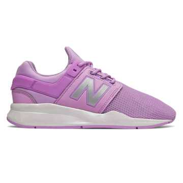 New Balance 247, Dark Violet with White