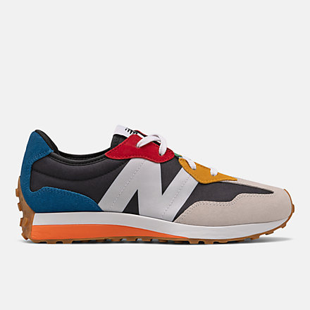 New Balance 327, GS327PBB image number null