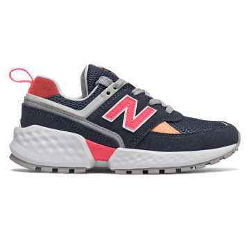 New Balance 574 Sport, NB Navy with Guava