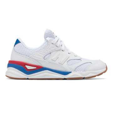quality design 1fbd5 3fef9 New Balance X-90R, White with Chilli Pepper