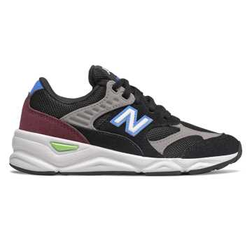 New Balance X-90R, Black with Grey