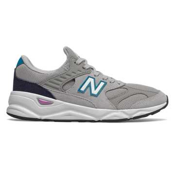 New Balance X-90R, Rain Cloud with Team Away Grey