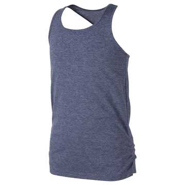 New Balance Core Tank, Thunder Heather