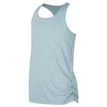 New Balance Fashion Athletic Tank, Ozone Blue