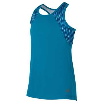 New Balance Fashion Performance Tank, Ozone Blue Flash